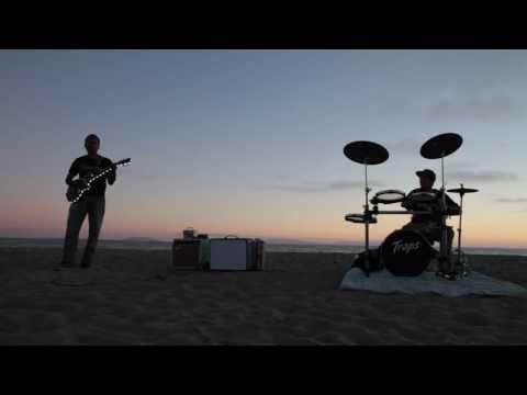 More Jamming on the Beach with the Traps a400 drums! Wipe out and others!