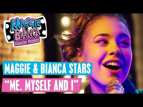 MAGGIE & BIANCA Fashion Friends 🎵 Me, Myself and I | Disney Channel Songs
