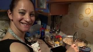 Preparazione arancini di riso-----Seconda parte .