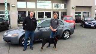 2005 Acura TL and our Friend Tex!