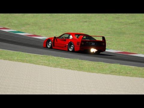 Assetto Corsa - Ferrari F40 Stage 3 - Mugello Circuit