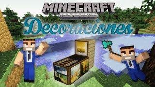 Minecraft Xbox 360 | Tutorial de Decoración | Maquina de Juego | Casas | (Live Gameplay/Comentado)