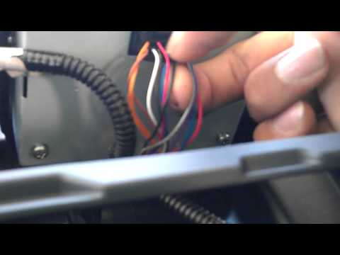 Toyota Sienna 2013 Factory Backup Camera Wire Youtube