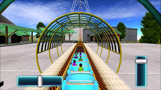Roller Coaster Game like in Real Life | 3D Simulation