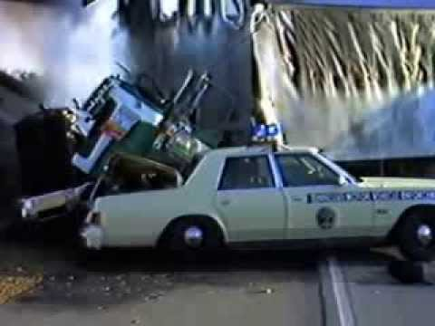 Circa 1979 80 I 155 Crash Explosion Of State Motor