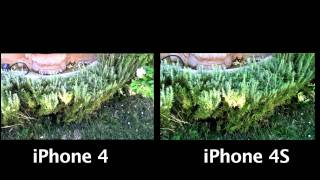 iPhone 4 VS iPhone 4S Video Test!