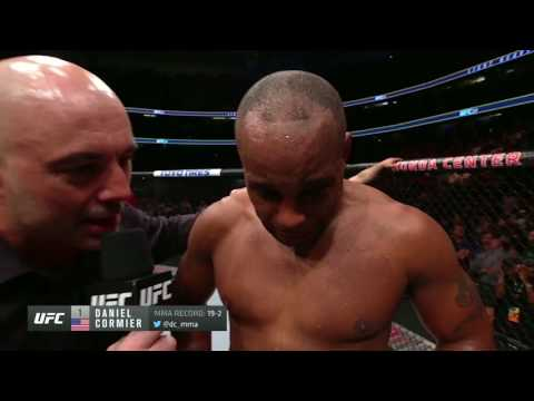 UFC 214: Daniel Cormier Octagon Interview