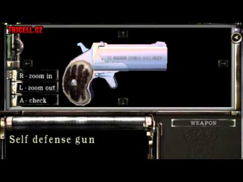 Resident Evil: remake - Self defense gun