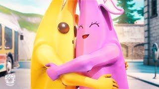 BANANA FALLS IN LOVE?! (A Fortnite Short Film)