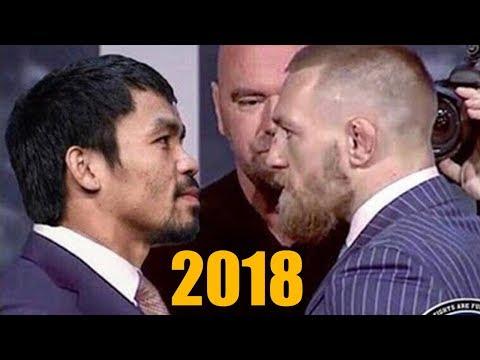МЭННИ ПАКЬЯО vs. КОНОР МАКГРЕГОР в 2018 году (Настоящий Боксерский Бой)