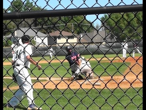 Prairie State College catcher injured in collision at plate