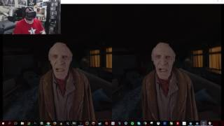 "Watching ""The Conjuring 2"" Trailer in VR with the HTC Vive"