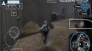 Assassin's Creed Bloodlines chasing mysterious man Android Gameplay Ppsspp emulator Moto e4 plus