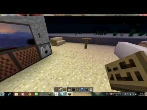 Видео как сделать стол в Майнкрафт