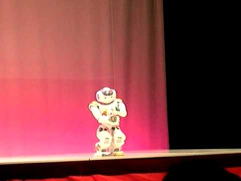 NAO Robot Dances Autonomously at Robot Japan Contest