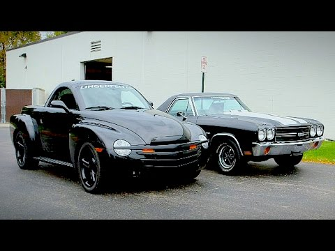1970 Chevy El Camino vs 2004 Chevy SSR - Generation Gap: Pickup Cars