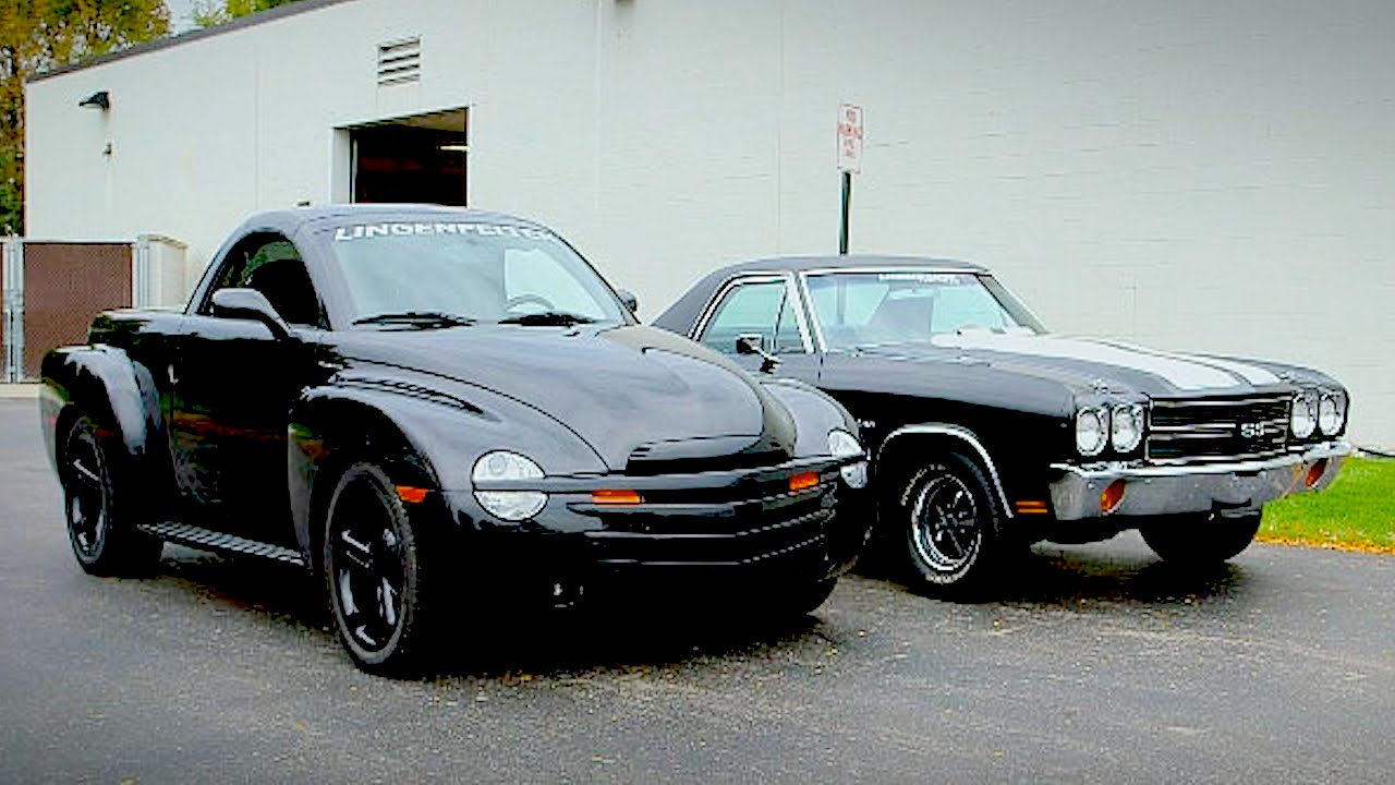 1970 Chevy El Camino Vs 2004 Chevy Ssr Generation Gap