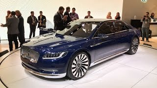 Lincoln Continental Concept - 2015 NYIAS - Fast Lane Daily
