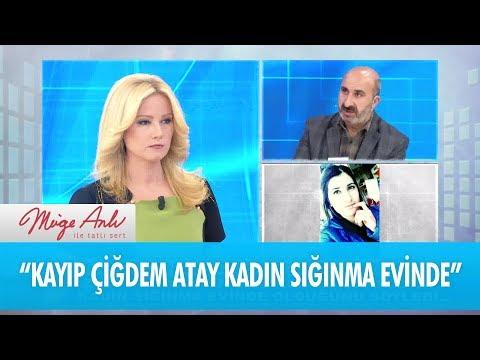 İzleyicimiz, Çiğdem'in kadın sığınma evinde olduğunu söyledi - Müge Anlı İle Tatlı Sert 23 Kasım