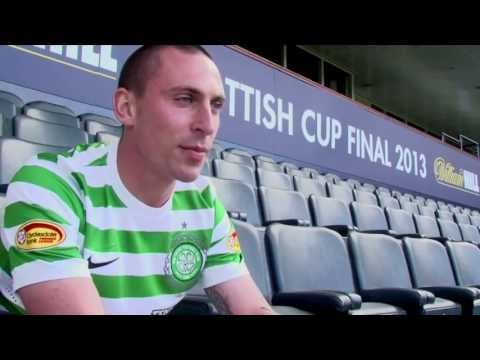 Scott Brown Celtic Captain / Interview ( Scottish Cup Final 2013 )