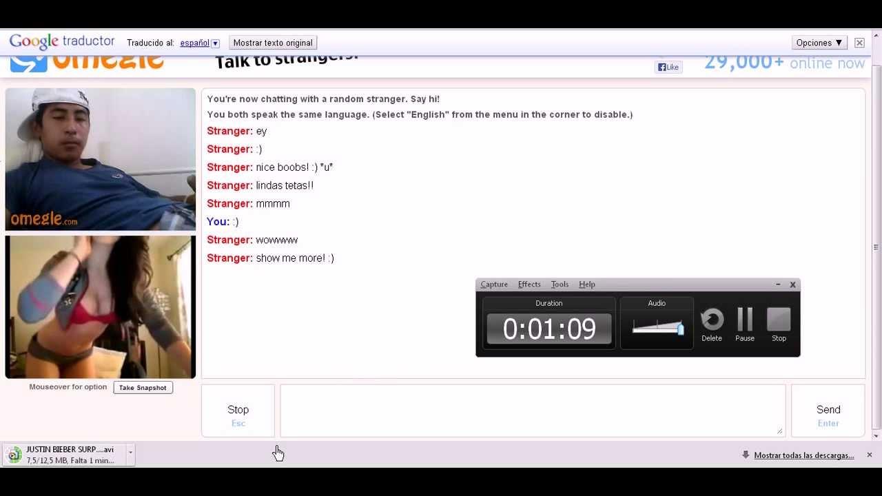 Omegle troll ManyCam #1 - YouTube