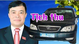 CSGT chính thức tịch thu xe biển xanh của bí thư Tp Thanh Hóa Nguyễn Xuân Phi, củi đã đút vào lò?