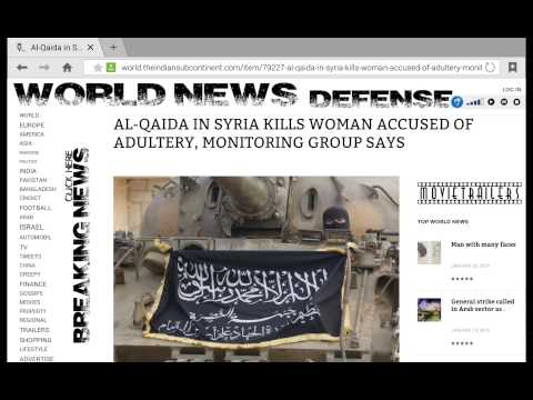 AL-QAIDA IN SYRIA KILLS WOMAN ACCUSED OF ADULTERY
