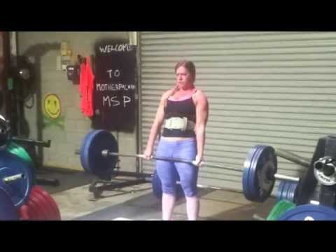 Zoe Lee Baker Zoe Lee Baker Deadlift 150kgs