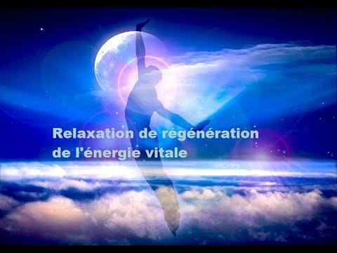 relaxation de régénération de l'énergie vitale