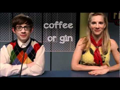 Glee - My Cup (Brittany S. Pierce & Artie Abrams) - Lyrics Video