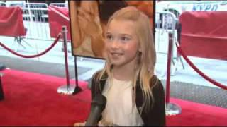 Brooklynn Proulx Interview  :: Time Traveller's Wife Premiere