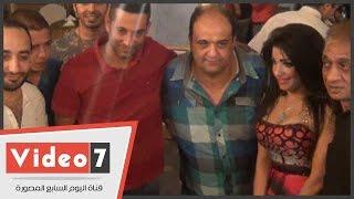بالفيديو.. عمرو سعد والحسينى والسبكى وأبو الليف ونور المغربى فى عيد ميلاد صوفيا