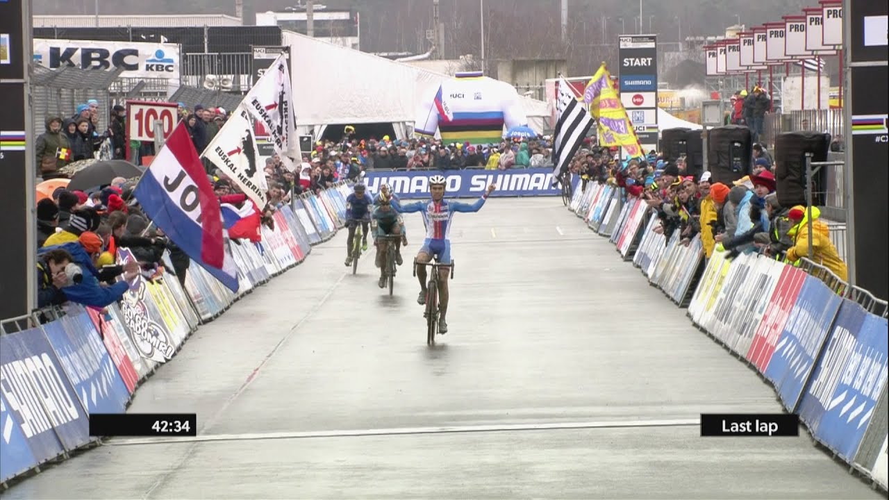 [Premature Elation: Cyclist Starts Celebrating Before The Race Is Over] Video