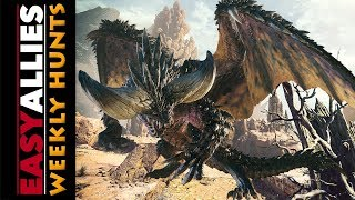 Weekly Hunts! Monster Hunter World (beta) - Nergigante pain and agony.