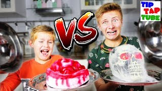 GUMMY FOOD VS REAL 🎃 EKELHAFT GRUSELIGE HALLOWEEN GUMMIES 💀  👻  TipTapTube 😈