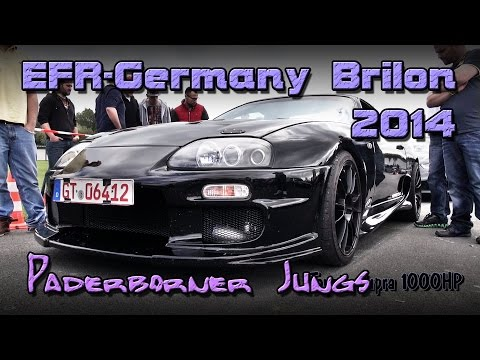 Paderborner Jungs 6600PS beim EFR Germany in Brilon 2014