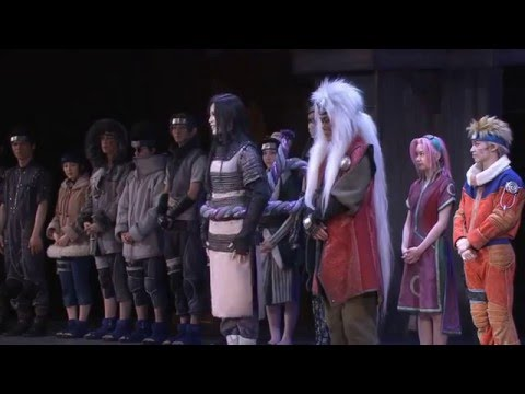 Naruto LIVE Spectacle 2015 - Cast Introduction