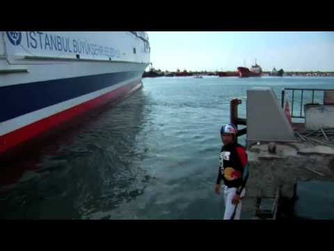 Hijack a Ferry: Wakeboarding in Turkey