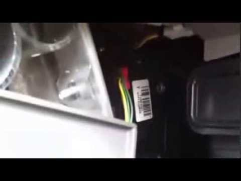 2009 Chevy Traverse air blend actuator replacement