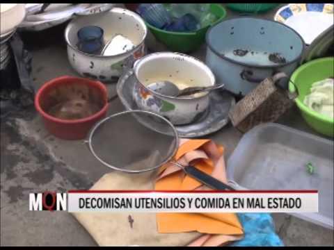 23/04/2015 16:34 DECOMISAN UTENSILIOS Y COMIDA EN MAL ESTADO