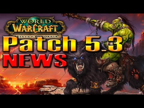 PATCH 5.3 NEWS Raid Battle Pets. Brawler's Guild. Kor'kron and MORE! by QELRIC