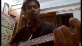 Tomar o choker anginai    Tumi ki amay ager moto Basho valo Bangla Song Guitar Cover