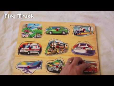 Melissa and Doug Wooden Vehicle Sound Puzzle REVIEW