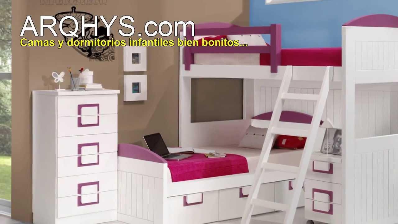 Camas para ni os y ni as youtube for Habitaciones para ninas 8 anos
