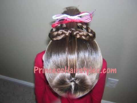 Heart Ponytail Hairstyle