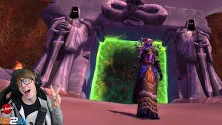 JAK PO RAZ PIERWSZY PRZESZEDŁEM PRZEZ DARK PORTAL - World of Warcraft: Legion