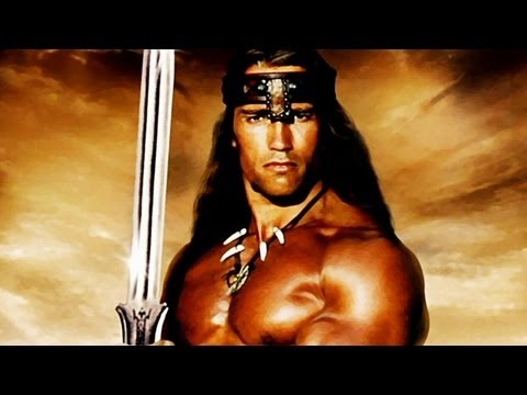 Arnold Schwarzenegger Talks The Legend of Conan and Triplets