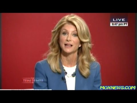 WENDY DAVIS vs GREG ABBOTT Very Heated Final 2014 Texas Gubernatorial Debate