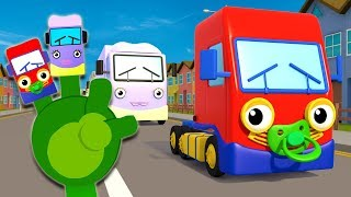Baby Truck Where Are You?   Finger Family Song   Gecko's Garage   Nursery Rhymes   Songs For Kids