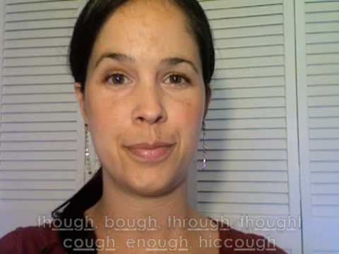 How to Pronounce OUGH:  American English